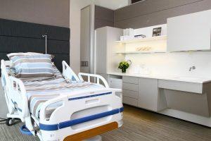 دکور مطب، اجرای صفحات کورین، دکوراسیون مراکز بهداشتی، کانتر کورین