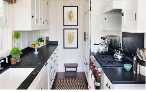 صفحه روی کابینت ، صفحه کابینت کورین ، دکورآشپزخانه