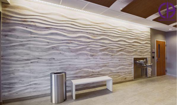 دیوارپوش کورین، پنل سه بعدی کورین، دیوارپوش سه بعدی