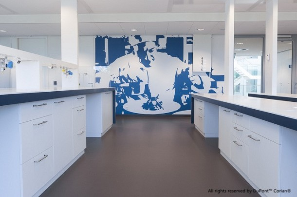 طراحی داخلی آزمایشگاه ، طراحی فضای آزمایشگاهی