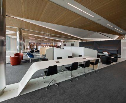 طراحی داخلی یک فرودگاه با استفاده از کورین
