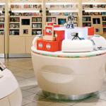 دکوراسیون فروشگاه باکورین