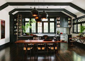 رنگ سیاه در دکوراسیون آشپزخانه